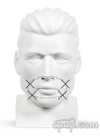 Hybrid CPAP Masks